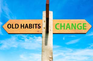 change bad habits