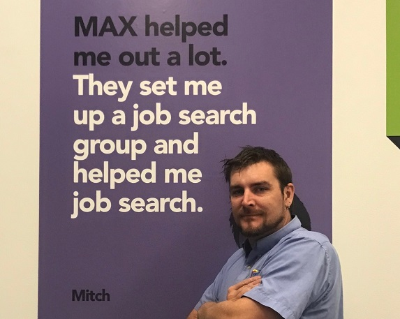 Keith Griffiths MAX Employment Maitland customer