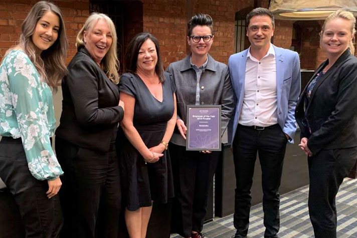 MAX Solutions names Woolworths Employer of the Year 2019