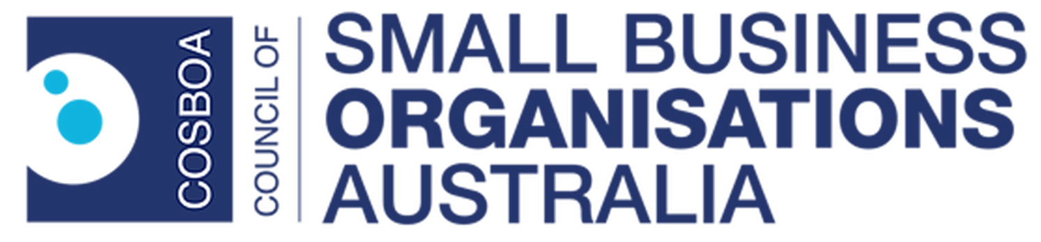 Council or Small Business Organisations Australia logo