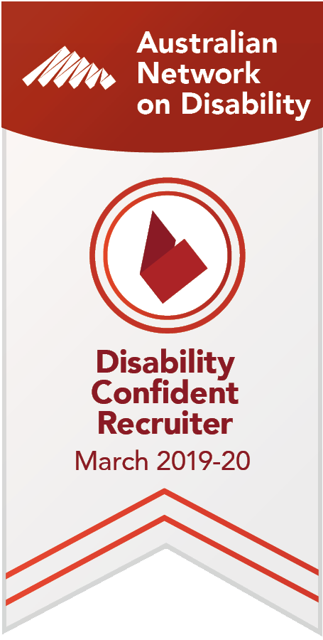 Disability Confident Recruiter award logo
