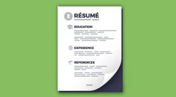 Here are some handy resume examples