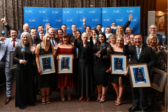 MAX employees alongside other winners of the NESA Awards 2019