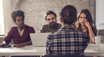 How are group interviews different?
