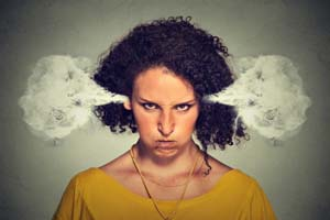 Blowing off steam - the healthy way to manage anger
