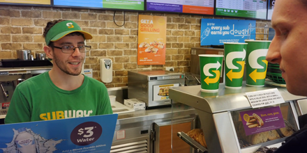 Recipe for success at Subway