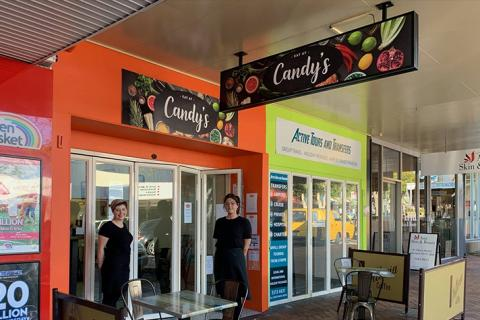 Eat at Candy's, Gympie